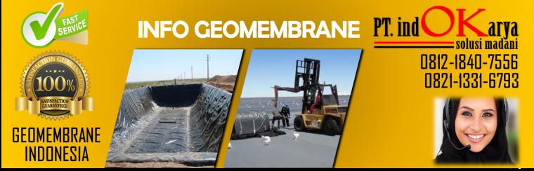 Jual Geomembrane